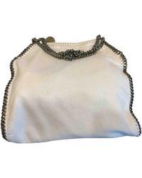 Stella McCartney - Falabella White Synthetic Handbag - Lyst