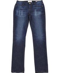 FRAME - Jeans Baumwolle - Elasthan Blau - Lyst