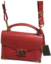 The Kooples Emily Leather Crossbody Bag - Red