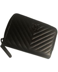 Chanel Piccola pelletteria in pelle nero Timeless/Classique