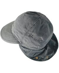 Maison Margiela Gray Cotton Hats