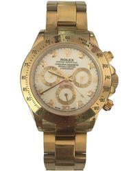 Rolex Daytona Yellow Gold Watch - Metallic