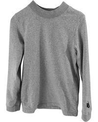 Nike Jersey en algodón gris