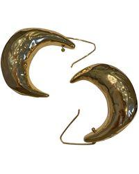 Marni Pendientes en metal dorado - Multicolor