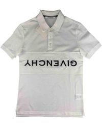671e7c2d Givenchy Polo Shirt in White for Men - Lyst