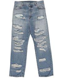 Balmain Jeans in cotone blu
