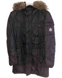 Moncler Abrigo Fur Hood - Multicolor