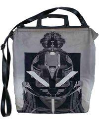 Givenchy Grey Suede Bag - Gray
