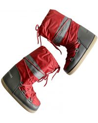 Marc Jacobs Snow Boots - Red