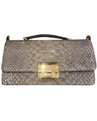 Lanvin Python Handbag - Natural
