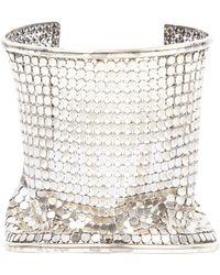 Chanel Vintage Silver Silver Bracelets - Multicolour