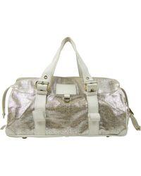 Marc Jacobs Metallic Leather Handbag