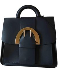 Zac Posen Leather Handbag - Blue