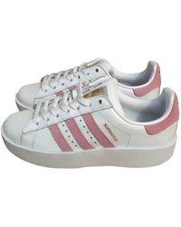 adidas Scarpe da ginnastica in pelle bianco Superstar
