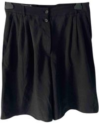 Givenchy - Shorts in Poliestere Nero - Lyst