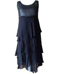 Comme des Garçons Black Silk Dress