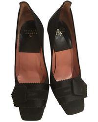 Laurence Dacade Black Cloth Heels