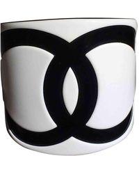 Chanel Cc Bracelet - White