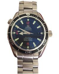 Omega Relojes Seamaster Planet Ocean - Negro