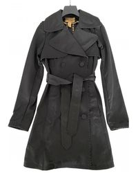 Roberto Cavalli Trench Coat - Black