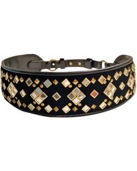 Tory Burch Leather Belt - Black