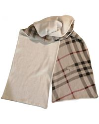 Burberry Scarf - Natural