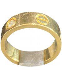 Cartier Love Gelbgold Ringe - Mehrfarbig