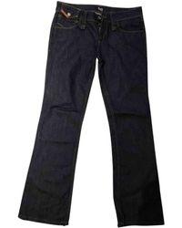 Dolce & Gabbana Straight Jeans - Blue