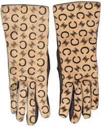 Céline - Leather Gloves - Lyst
