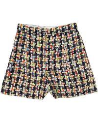 Chanel Tweed Combishort - Multicolor