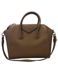Givenchy - Antigona Leather Handbag - Lyst