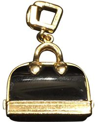 Louis Vuitton - Black Yellow Gold Pendant - Lyst