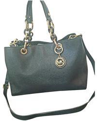 Michael Kors Sutton Leather Crossbody Bag - Black