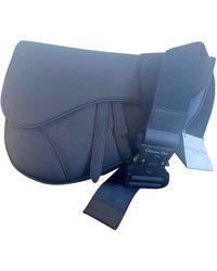 Dior Leather Bag - Blue