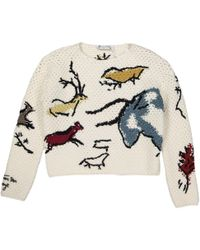 Dior Pre-owned Wool Sweater - White