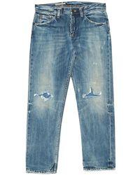 Ralph Lauren Collection - Blue Cotton Jeans - Lyst