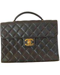 Chanel Leder Aktentaschen - Mehrfarbig