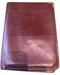 Cartier - Leather Wallet - Lyst