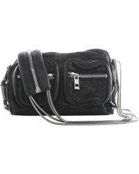 5179a78b926 Alexander Wang Brenda Leather Cross-Body Bag in Black - Lyst