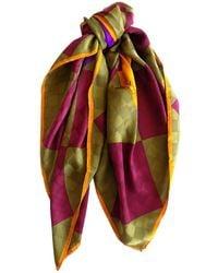 Lanvin - Multicolour Silk - Lyst