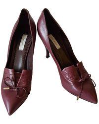 Marc Jacobs Leather Heels - Multicolour