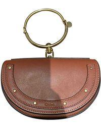 Chloé Bracelet Nile Leather Handbag - Brown