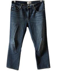Acne Studios Pop Boyfriend Jeans - Blau