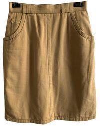 Givenchy Mid-length Skirt - Natural