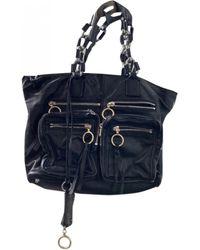 Chloé Leather Tote - Black