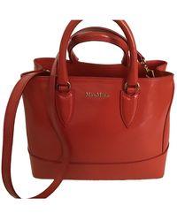 Max Mara Leather Handbag - Red