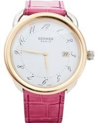 Hermès - Pre-owned Arceau Gm Watch - Lyst