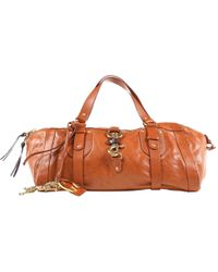 Chloé - Pre-owned Brown Leather Handbags - Lyst