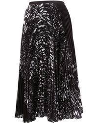 Timo Weiland Black Polyester Skirt