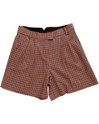 Woolrich Wool Shorts - Red
